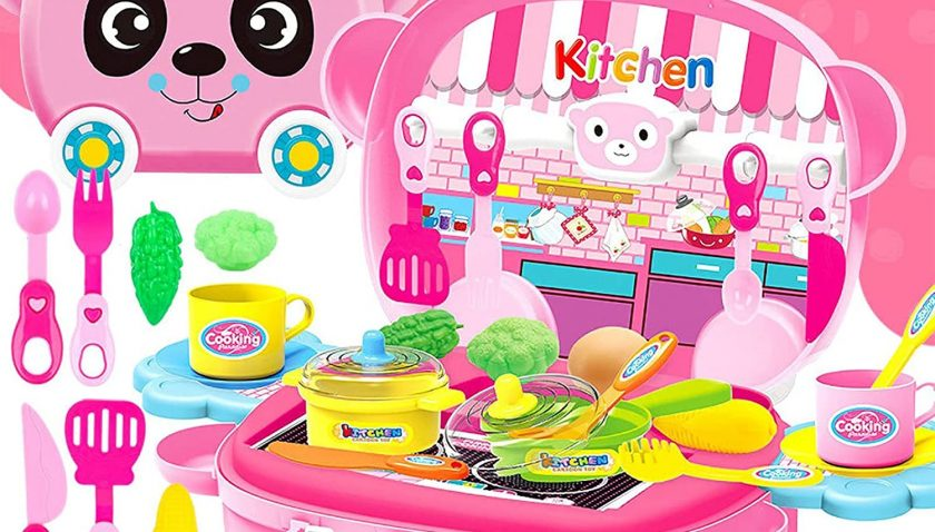 80% Discount for Kitchen Cooking Set Girls Boys Playset Toy