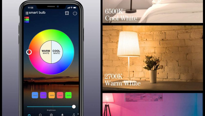 30% Discount for Smart Light Bulbs Alexa Color Changing LED Bulb