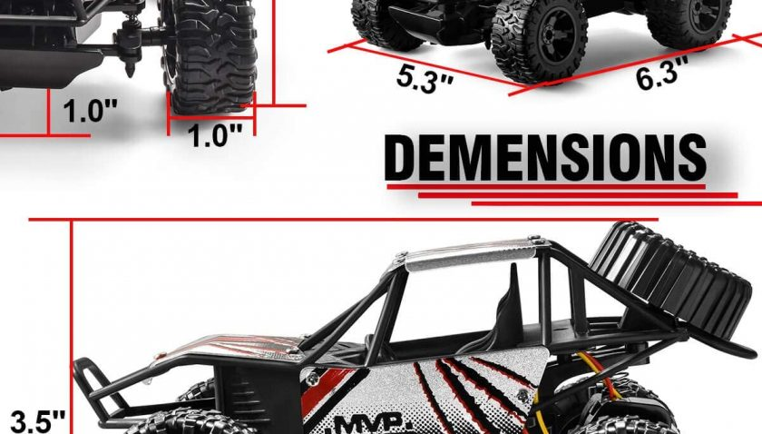 50% Discount for TAFULOR RC Cars for Boys Age 8-12