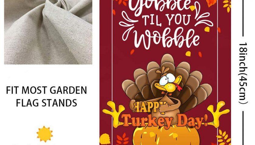 50% Discount for Mocossmy Thanksgiving Garden Flags