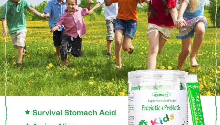 50% Discount for Kids Probiotic & Prebiotics Powder Age 3+