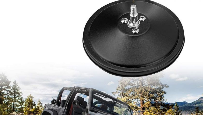 50% Discount for JoyTutus Mirrors Doors Off Quick Release, Hinge Round Mirrors for Jeep Wrangler JK JKU TJ