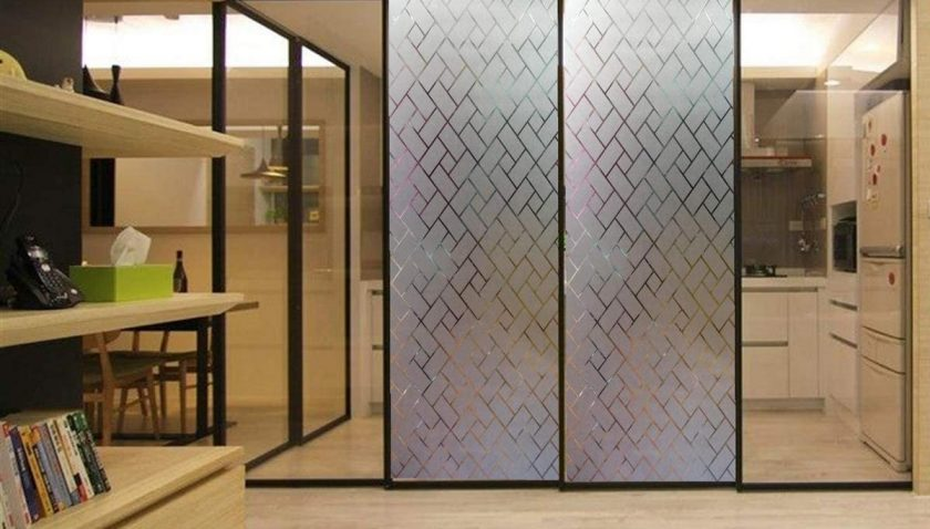 50% Discount for Arthome 35.4 x100 inch Privacy Window Glass Films No Glue Frosted Static Cling UV Protection Heat Control Home