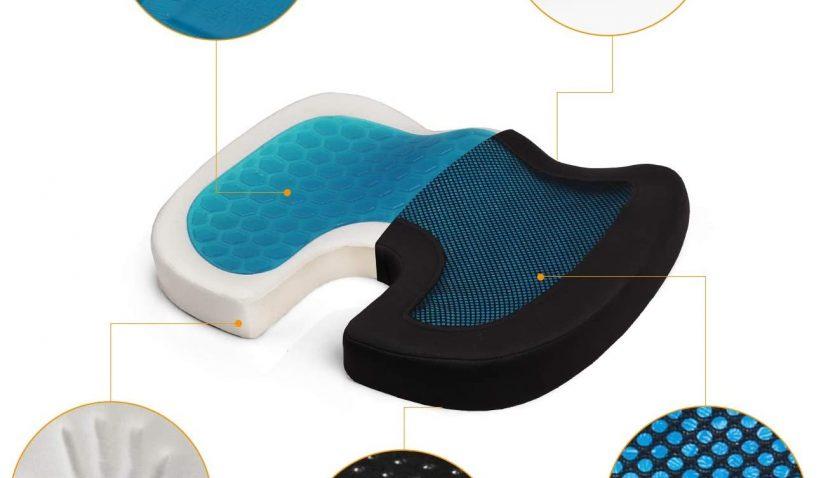 50% Discount for Leadpro Gel Memory Foam Seat Cushion