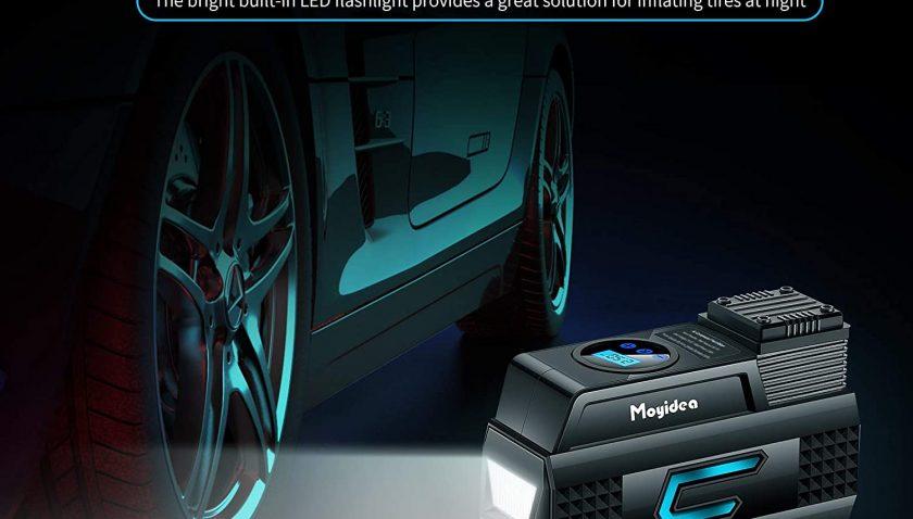 50% Discount for Moyidea Portable Air Compressor for Car Tires