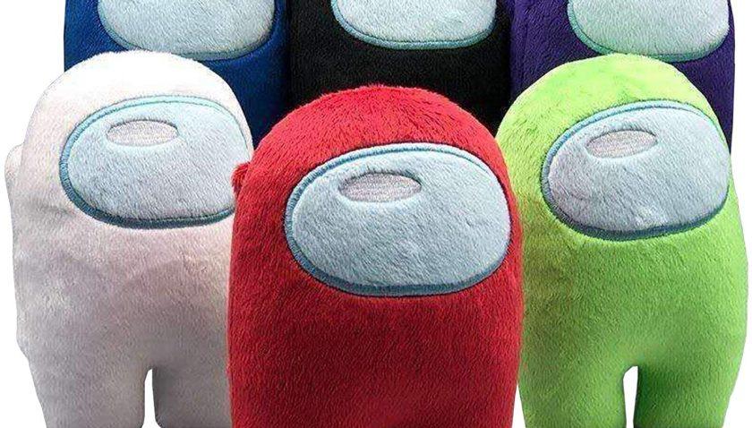 53% Discount for Xiakolaka 6Packs Among Us Plush Stuffed Toys Among Us Plushies Stuff Animal Among Us Crewmate Plushie Merch Amoung Us