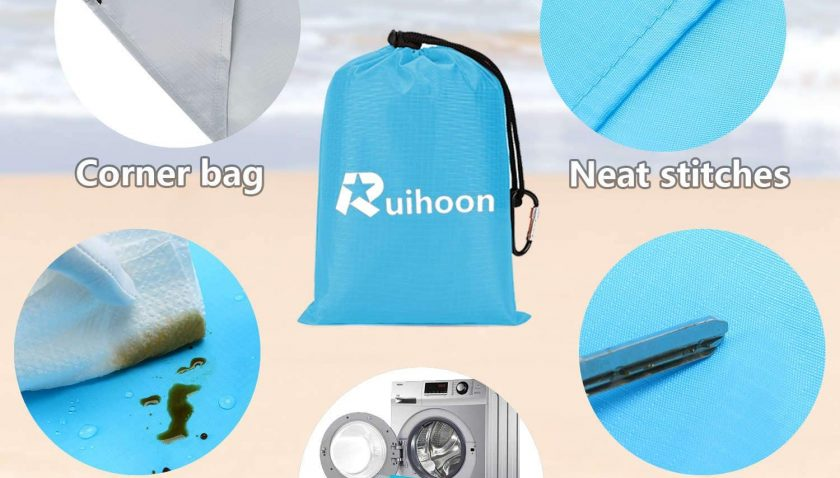 50% Discount for Ruihoon Sand Free Beach Blanket