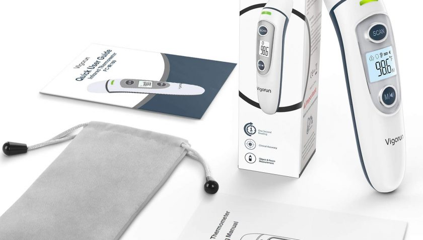 50%Off Vigorun 5-in-1 Infrared Digital Fever Ear Thermometer