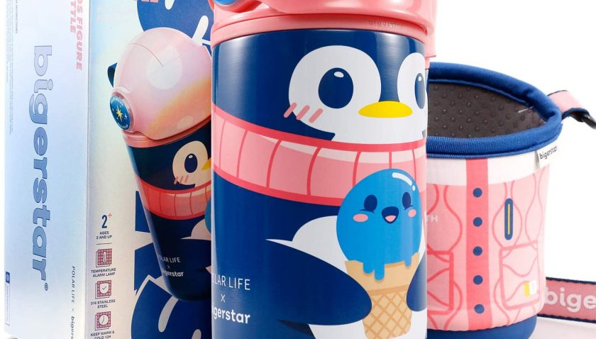 50% Discount for Arcwares Thermos Kids Water Bottles Leak Proof