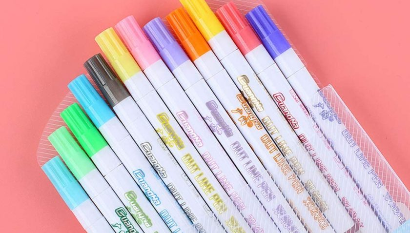 60% Discount for Double Line Outline Pens 12 Color