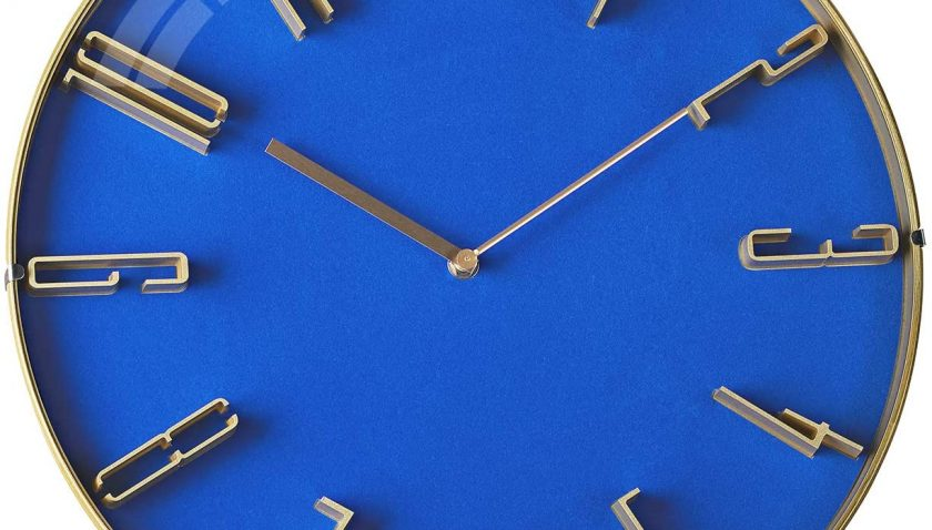 70% Discount for MOTINI Modern Blue Wall Clock