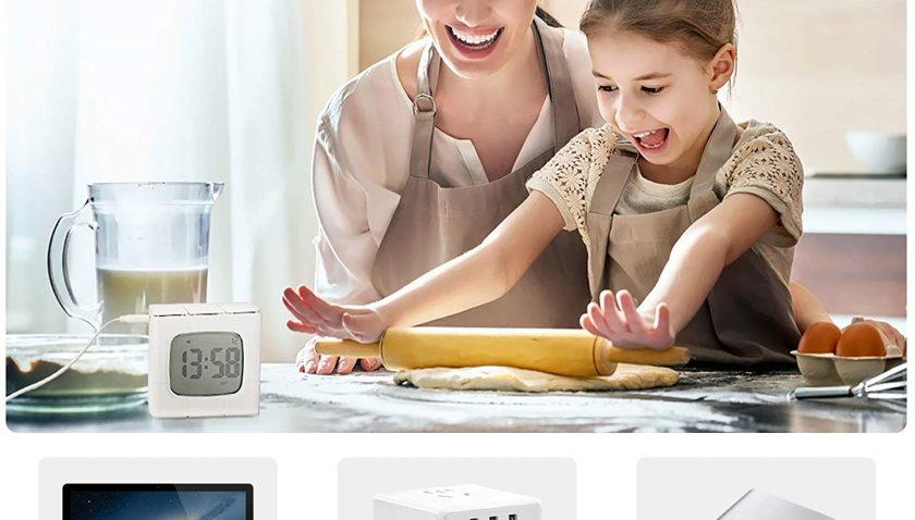 30% Discount for Number-One Small Digital Alarm Clock, Electric Alarm Clock with USB Charging
