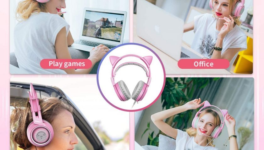 50% Discount for SOMIC G951s Pink Stereo Gaming Headset with Mic for PS4