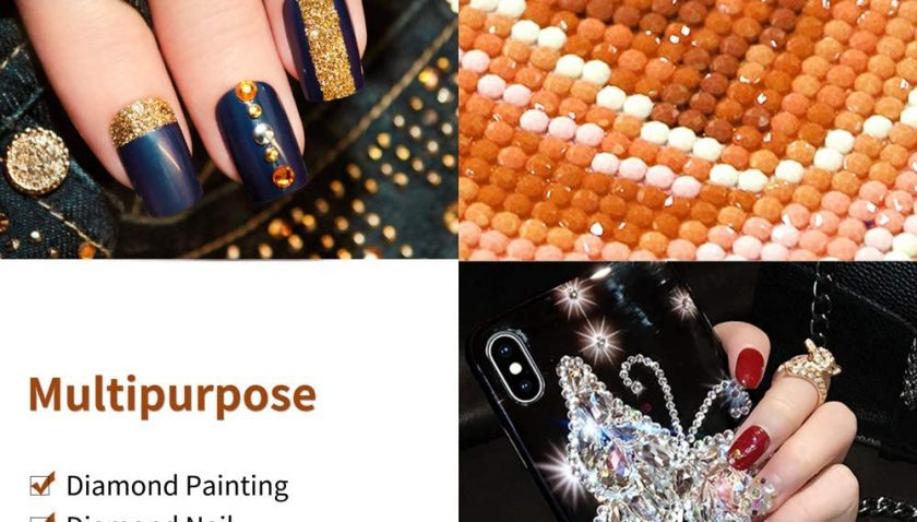 50% Discount for N&T NIETING 3 Pcs LED Diamond Painting Tools Drill Pen, Pen Heads, Storage Bag, Painting Accessories Cross Stitch Tools for Nail Art DIY Decoration
