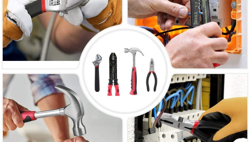 46% Discount for Meterk 170 Pcs Home Tool Kit- Household/Auto Repair Mechanic Tool Set with Wrenches