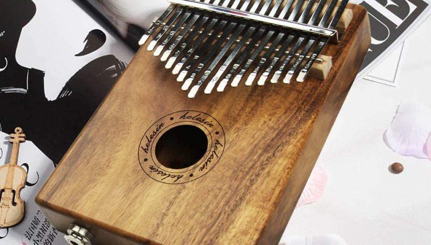 50% Discount for Kalimba 17 Keys EQ Thumb Piano