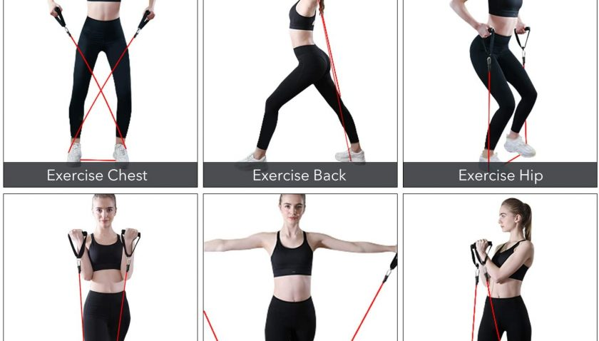 50% Discount for WANFEI Resistance Bands Set Exercise Bands for Fitness Stretch Workout Intensity Resistance Bands Sets for Physical Therapy and Home Workout
