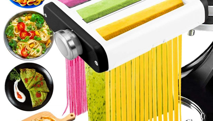 60% Discount for 3 in 1 Pasta Maker Attachment for Kitchenaid Mixer