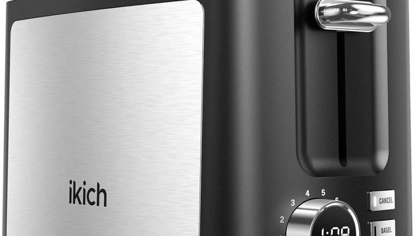50% Discount for IKICH Toaster 2 Slice 9 Settings