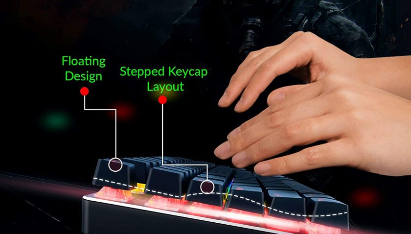 50% Discount for SHAVA TKL Mechanical Gaming Keyboard