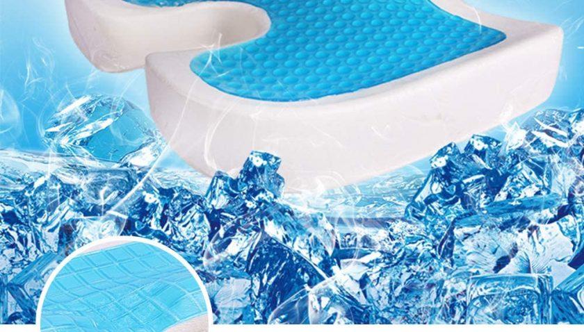 51% Discount for Memory Foam Gel Seat Cushion, FOME U-Shaped Cool Gel seat Cushions