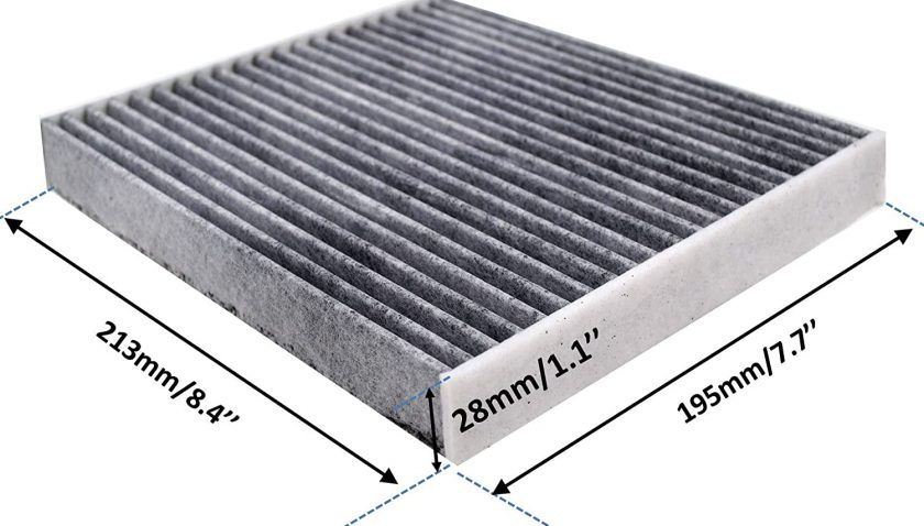 50% Discount for FD285 Cabin Air Filter for Toyota/Lexus/Land Rover/Pontiac