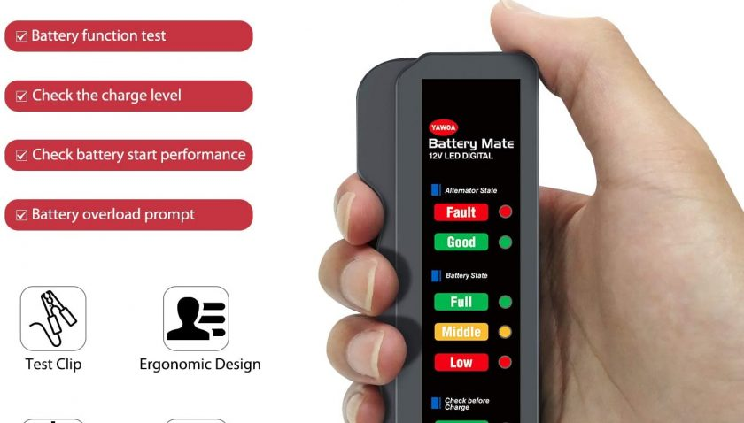 50% Discount for OBDMONSTER 12V Car Battery Tester and Alternator Tester