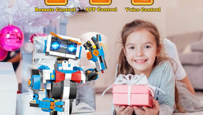 50% Discount for okk STEM Robot Building Block Toy for Kids