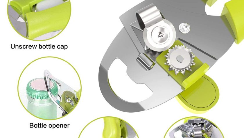 50% Discount for TENKOO Can Opener Smooth Edge Manual