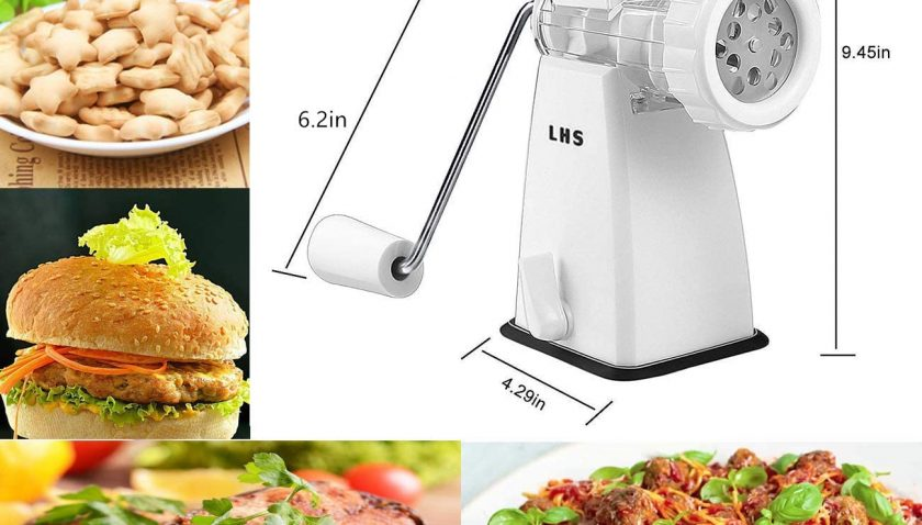 50% Discount for Manual Meat Grinder with Stainless Steel Blades Heavy Duty Powerful Suction Base
