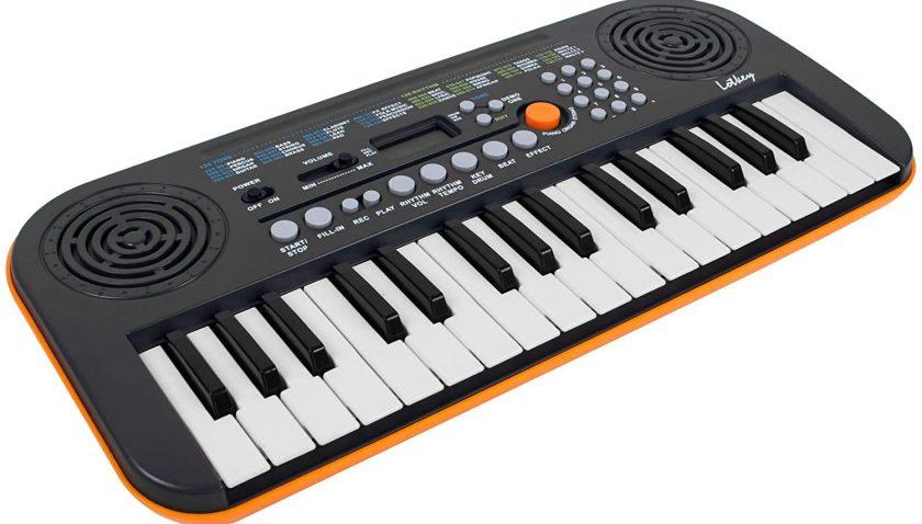 50% Discount for Kmise 32 Key Mini Portable Digital Electric Piano Keyboard