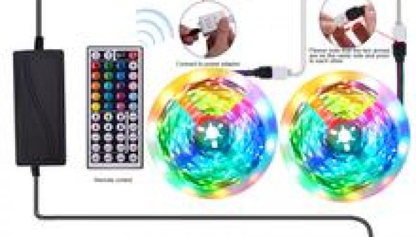 10% Discount for 12V-5050 Lamp Beads RGB 44 Keys 5 Meters 150 Lights (24W) Light Strip Single Plate White Light Panel
