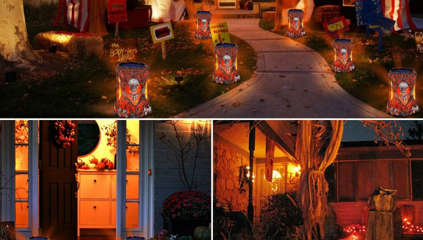 50% Discount for TomCare Solar Lights Outdoor Decorative Flickering Flame