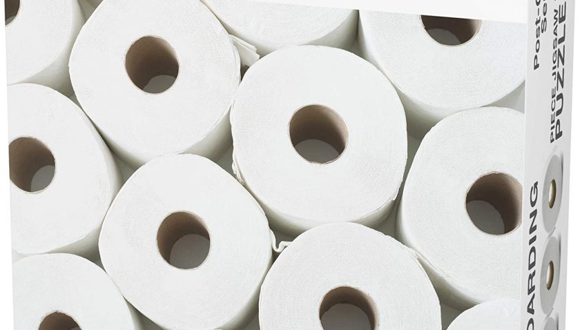 50% Discount for Funwares TP Hoarding Toilet Paper Puzzle 1000 Piece Jigsaw Puzzle