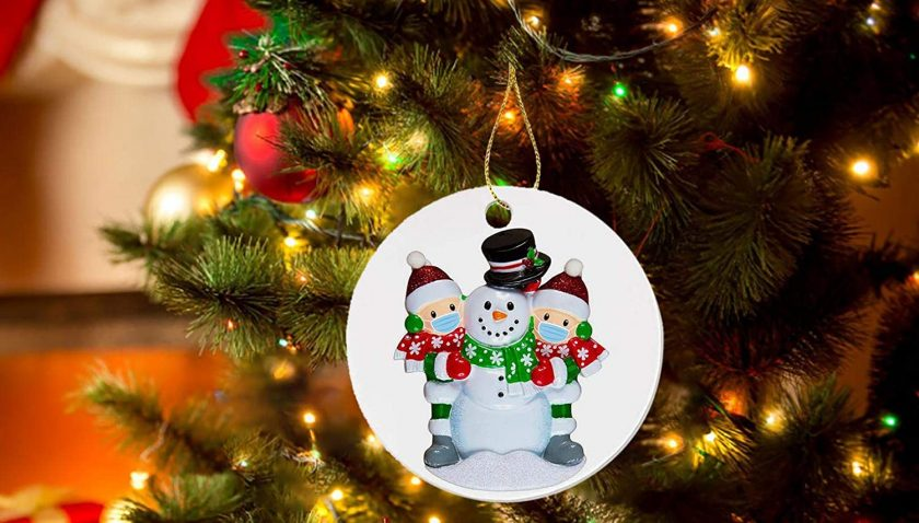 90% Discount for Hansmart 2020 Christmas Ornaments Hanging Decoration Gift Product Personalized Family (A)