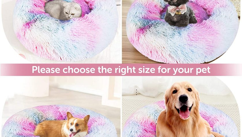 40% Discount for DADYPET Cat Bed Donut Cozy Dog Bed