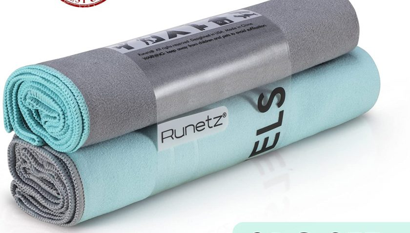 55% Discount for Runetz - 2pc Microfiber Towels