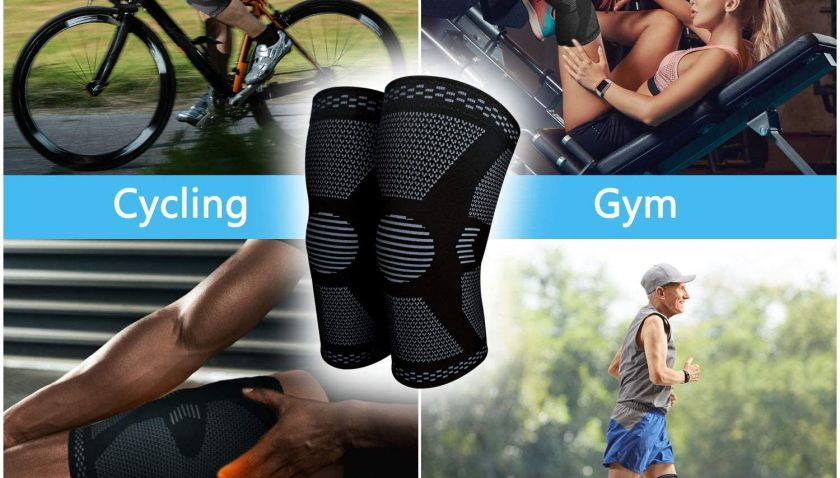 50% Discount for 2 Pack Knee Compression Sleeve - Knee Brace for Men & Women