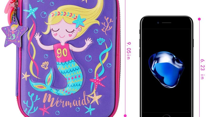 50% Discount for Mermaid Pencil Case for Girls