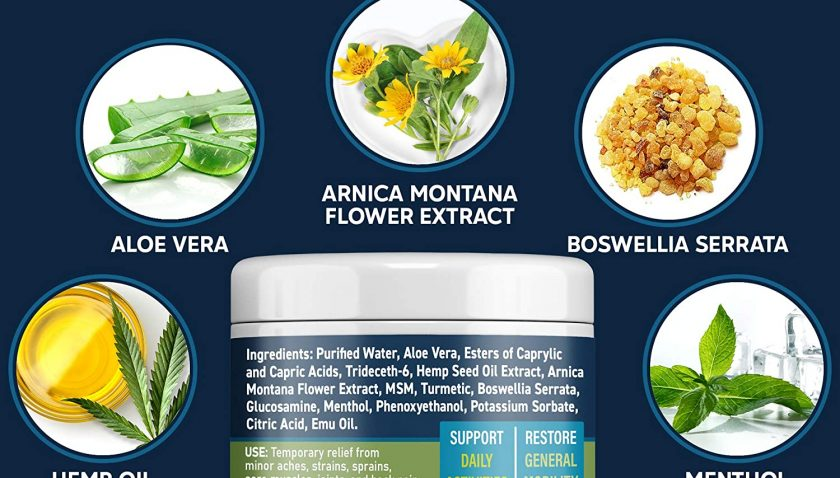 50% Discount for Hemp Extract Pain Relief Cream