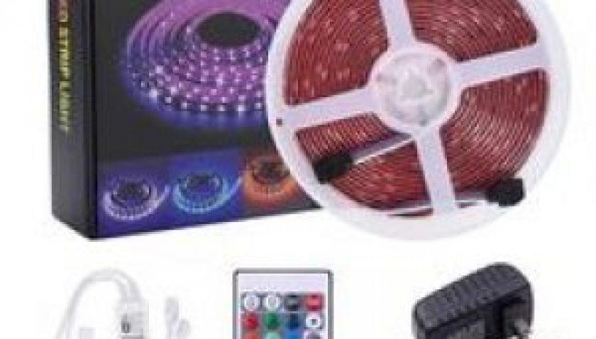 10% Discount for 12V-5050 RGB Wifi Remote Control 10 Meters 24 Keys 300 Lights (40W)