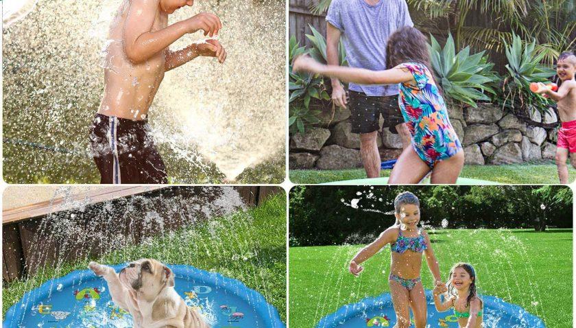 55% Discount for Splash Pad Sprinkler for Kids