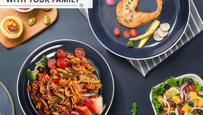 50% Discount for KUTIME 10pcs Cookware Set Non-stick