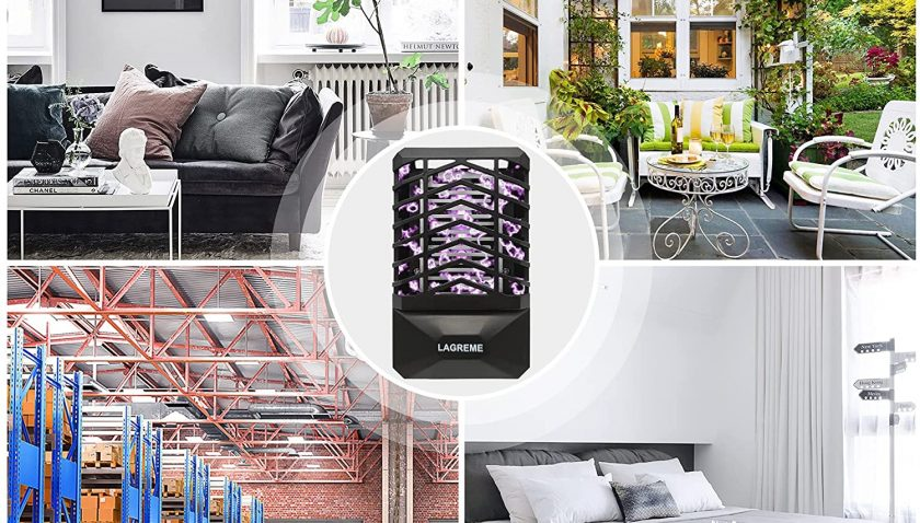 50% Discount for Bug Zapper Indoor, Electronic Fly Zapper Lamp for Home,