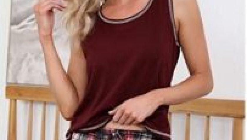 50% Discount for Akalnny Women Pajama Shorts Set Sleeveless Sleepwear Tank & Shorts Pj Set