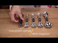 Measuring Spoons Measuring Cups Sets, Cup Measurements Set for Kitchen Baking