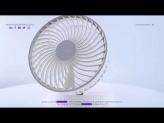 Mini Portable Retractable Humidification Fan,Cordless Table Fans